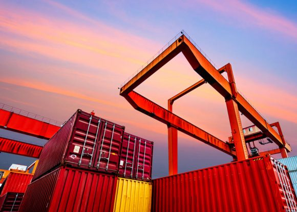 About IFF_Port Scene Shipping Containers Image