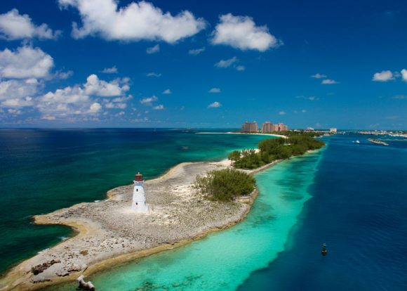 About IFF_The Bahamas Beach Scene and Lighthouse Image
